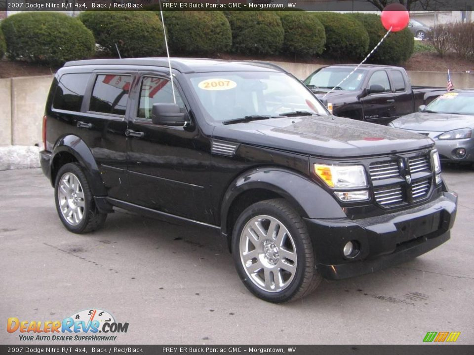 2007 dodge nitro r t 4x4 black red black photo 7. Black Bedroom Furniture Sets. Home Design Ideas