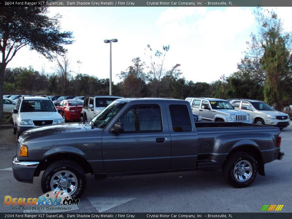 2004 Ford Ranger Xlt Supercab Dark Shadow Grey Metallic