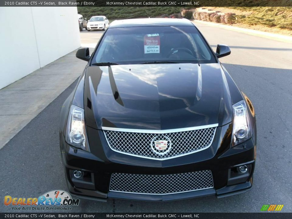 2010 cadillac cts v sedan black raven ebony photo 6. Black Bedroom Furniture Sets. Home Design Ideas