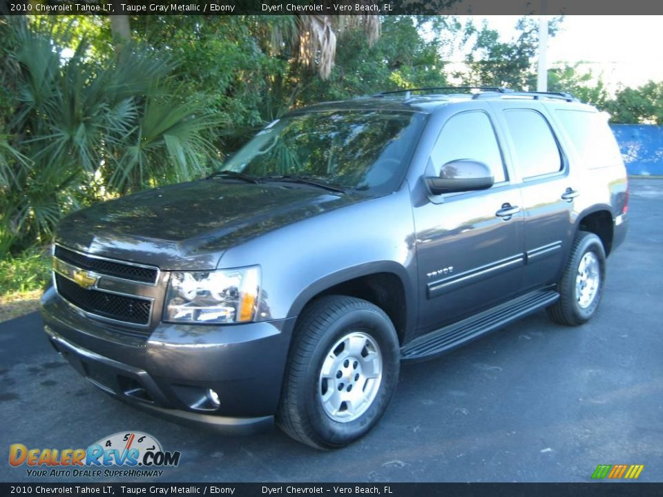 2010 Chevrolet Tahoe LT Taupe Gray Metallic / Ebony Photo #1