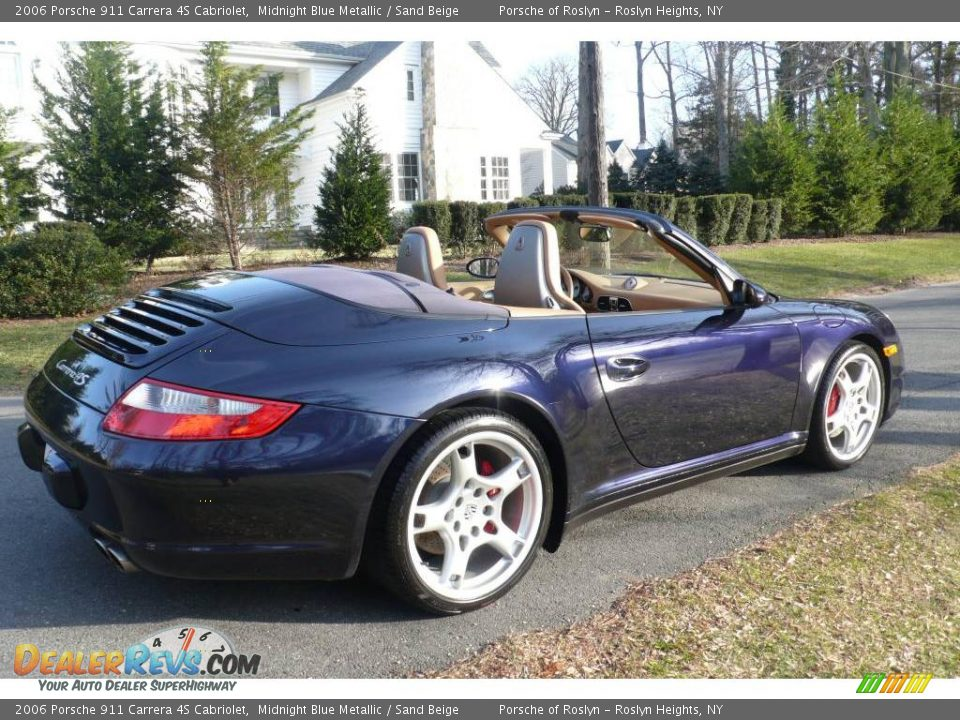 2006 porsche 911 carrera 4s cabriolet midnight blue. Black Bedroom Furniture Sets. Home Design Ideas