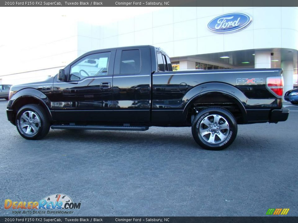 2010 ford f150 fx2 supercab tuxedo black black photo 5. Black Bedroom Furniture Sets. Home Design Ideas