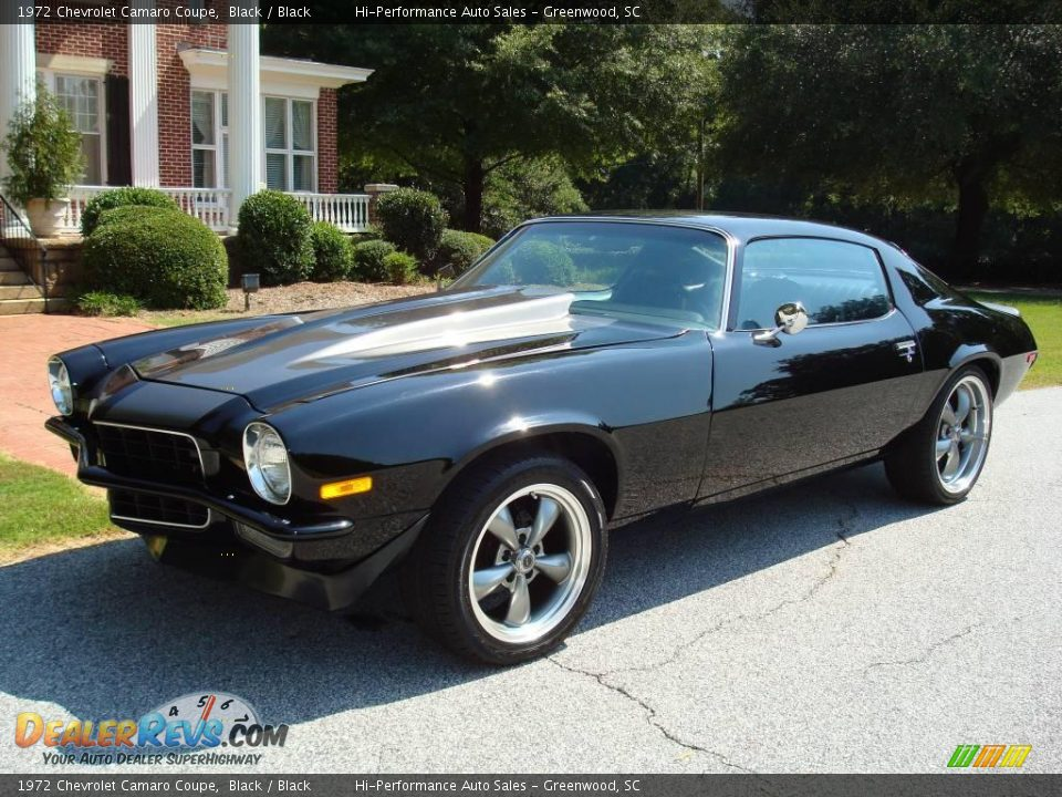 1972 Chevrolet Camaro Coupe Black Black Photo 2