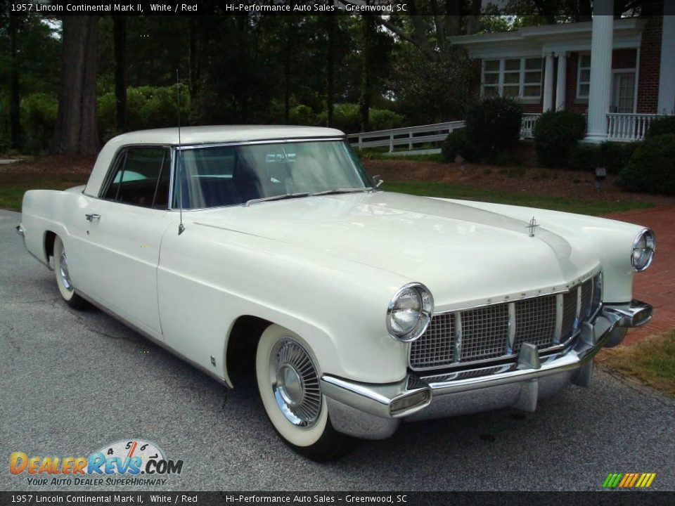 1957 lincoln continental mark ii white red photo 13. Black Bedroom Furniture Sets. Home Design Ideas