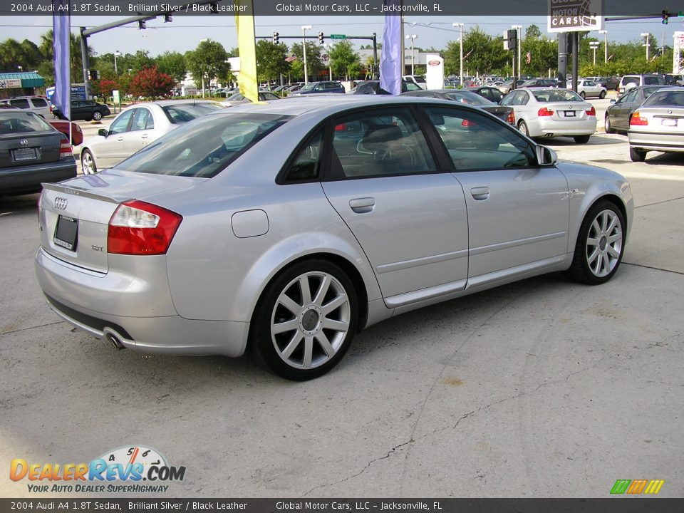 2004 Audi A4 1 8t Sedan Brilliant Silver Black Leather