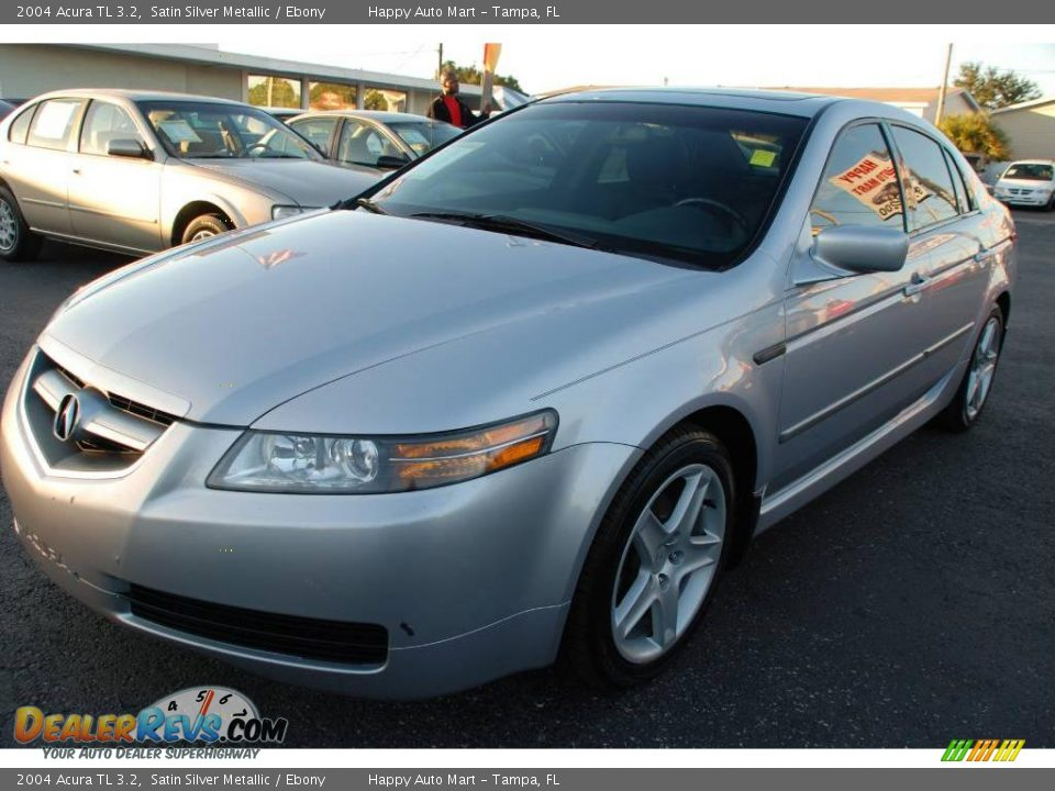 2004 acura tl 3 2 satin silver metallic ebony photo 5 dealerrevs com