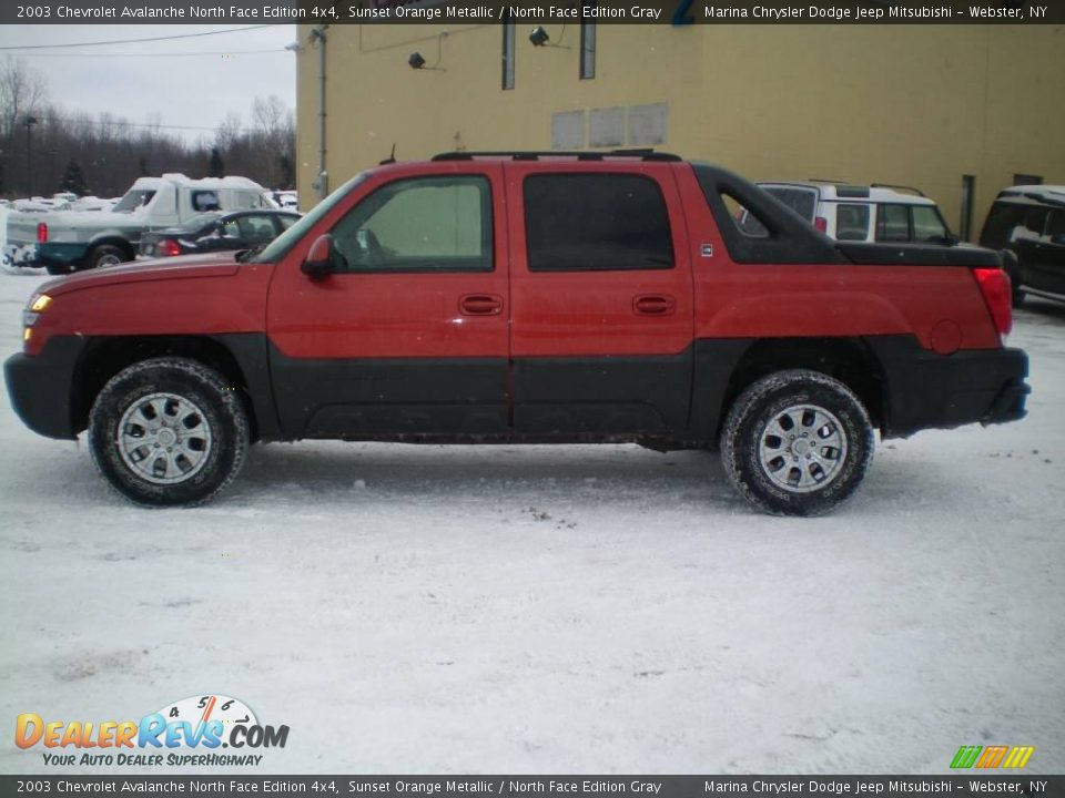 2003 chevrolet avalanche north face edition 4x4 sunset. Black Bedroom Furniture Sets. Home Design Ideas