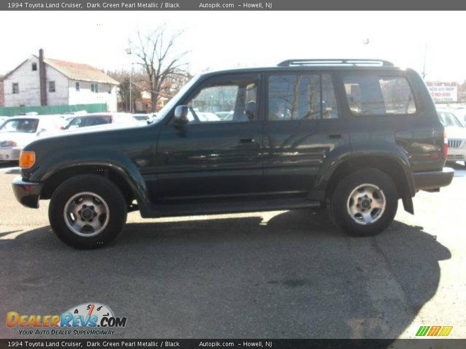 1994 Toyota Land Cruiser Dark Green Pearl Metallic Black