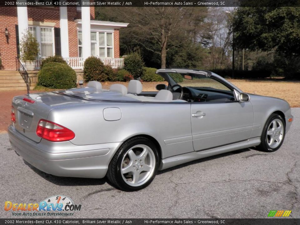 2002 mercedes benz clk 430 cabriolet brilliant silver. Black Bedroom Furniture Sets. Home Design Ideas