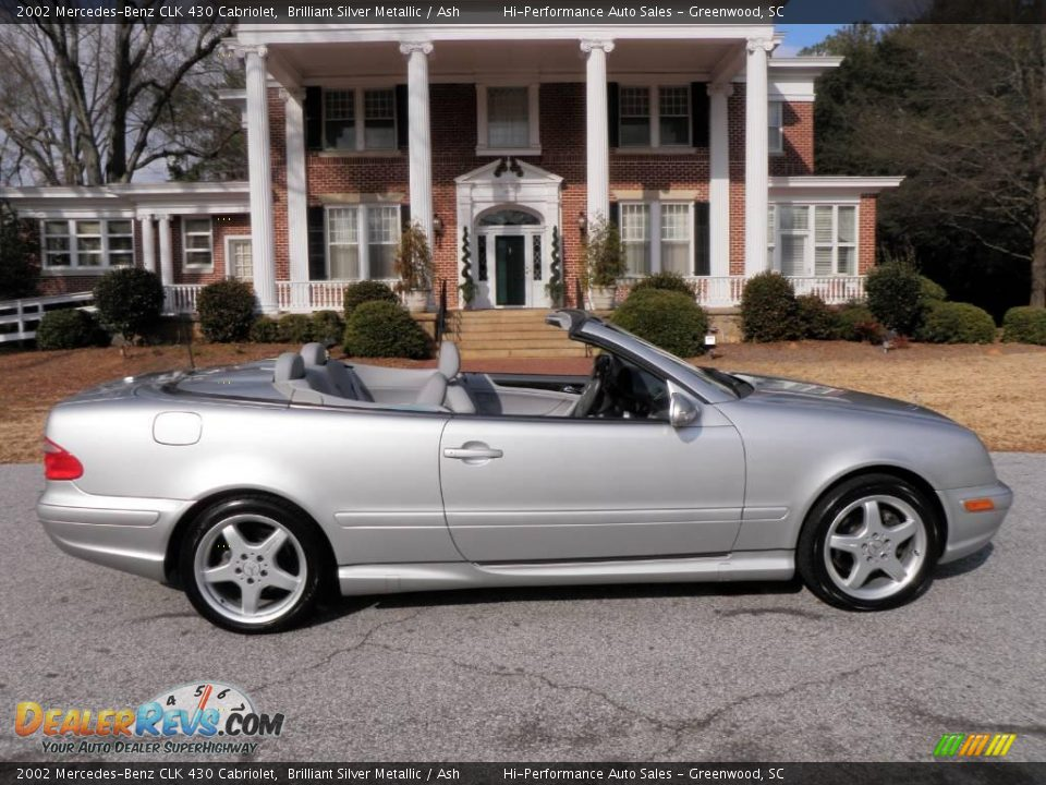 2002 mercedes benz clk 430 cabriolet brilliant silver metallic ash photo 9. Black Bedroom Furniture Sets. Home Design Ideas