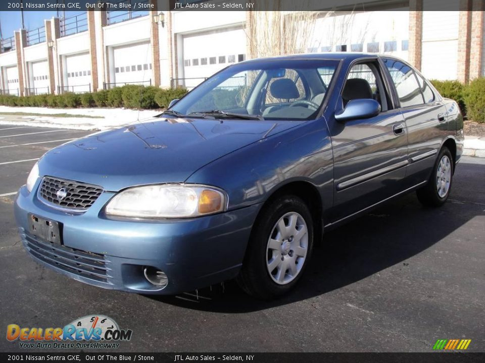 2001 nissan sentra gxe out of the blue stone photo 1. Black Bedroom Furniture Sets. Home Design Ideas