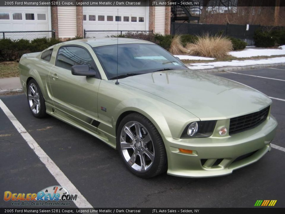 front 3 4 view of 2005 ford mustang saleen s281 coupe photo 2. Black Bedroom Furniture Sets. Home Design Ideas