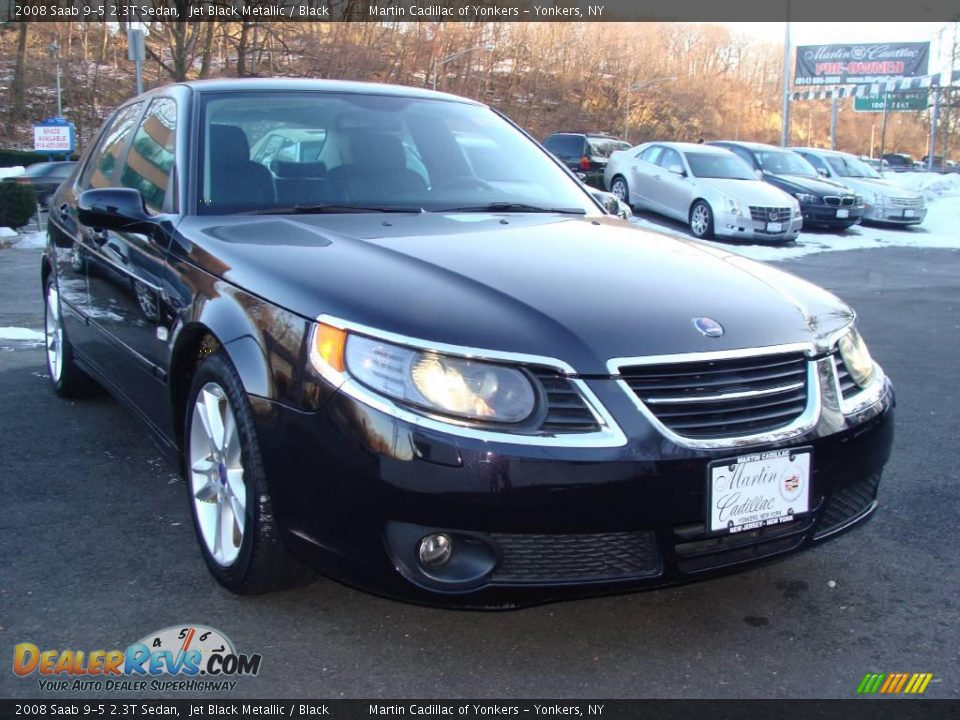 2008 saab 9 5 2 3t sedan jet black metallic black photo. Black Bedroom Furniture Sets. Home Design Ideas
