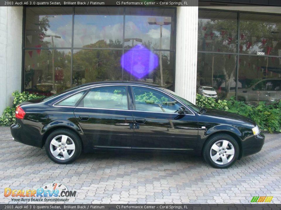2003 audi a6 3 0 quattro sedan brilliant black platinum photo 12. Black Bedroom Furniture Sets. Home Design Ideas
