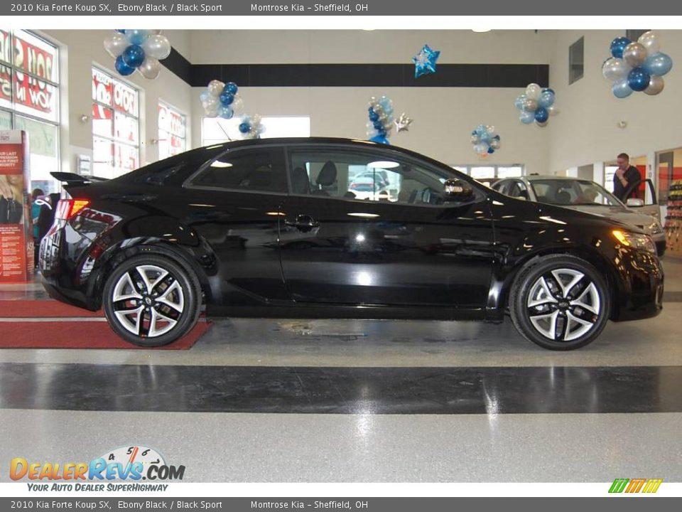 2010 Kia Forte Koup Sx Ebony Black Black Sport Photo 9 Dealerrevs Com