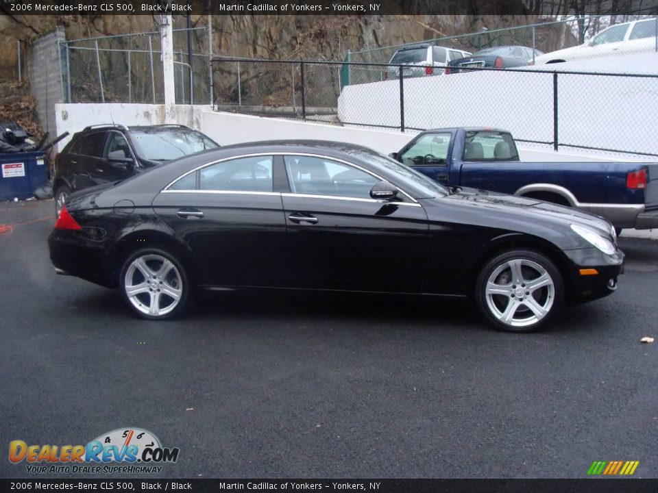 2006 Mercedes Benz Cls 500 Black Black Photo 4