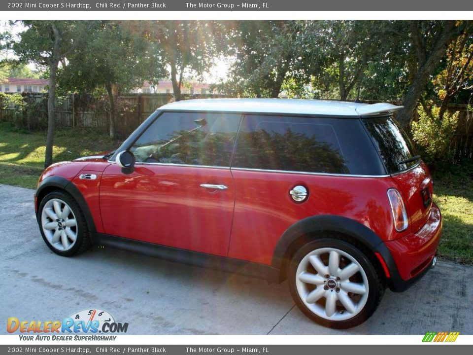 2002 Mini Cooper S Hardtop Chili Red Panther Black Photo