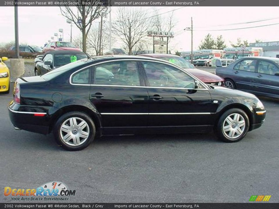 2002 volkswagen passat w8 4motion sedan black grey photo 2. Black Bedroom Furniture Sets. Home Design Ideas