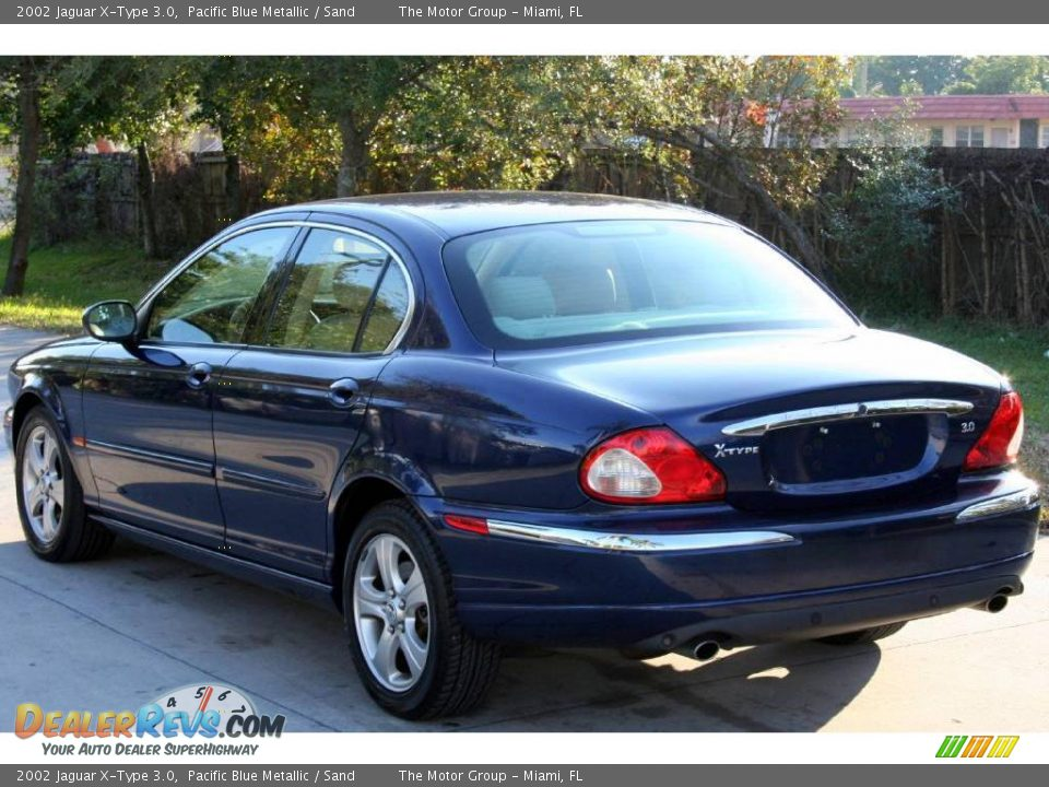 2002 jaguar x type 3 0 pacific blue metallic sand photo 4. Black Bedroom Furniture Sets. Home Design Ideas