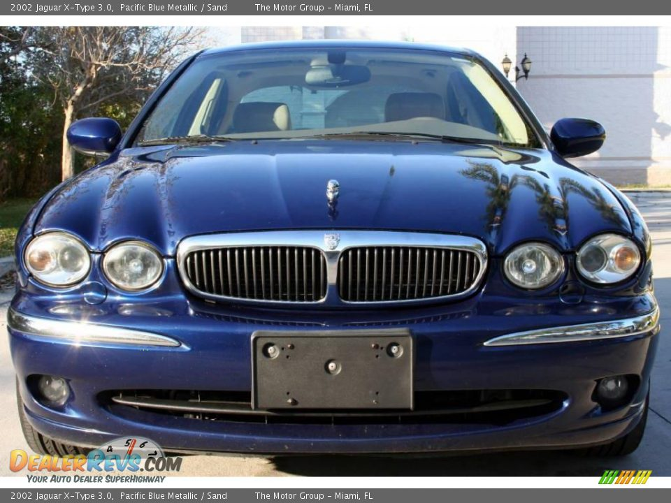 2002 jaguar x type 3 0 pacific blue metallic sand photo 11. Black Bedroom Furniture Sets. Home Design Ideas