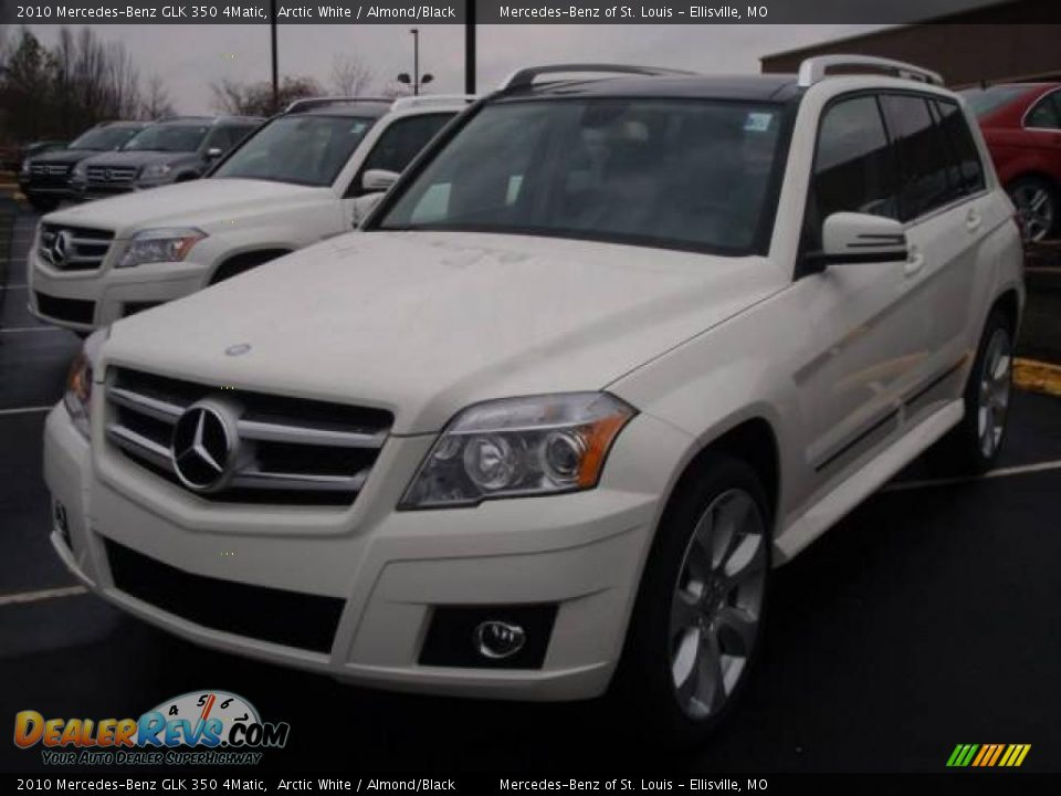 2010 mercedes benz glk 350 4matic arctic white almond for 2010 mercedes benz glk