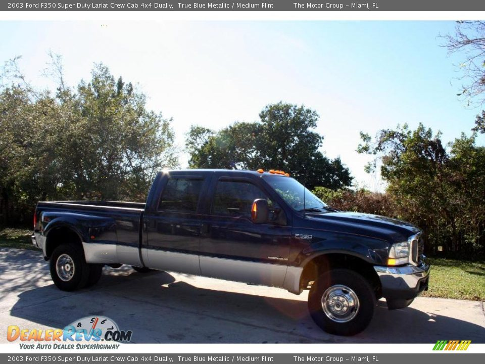 Ford Super Duty Pictures - 2003 Ford F350 Super Duty Lariat Crew Cab 4x4 Dually True ...