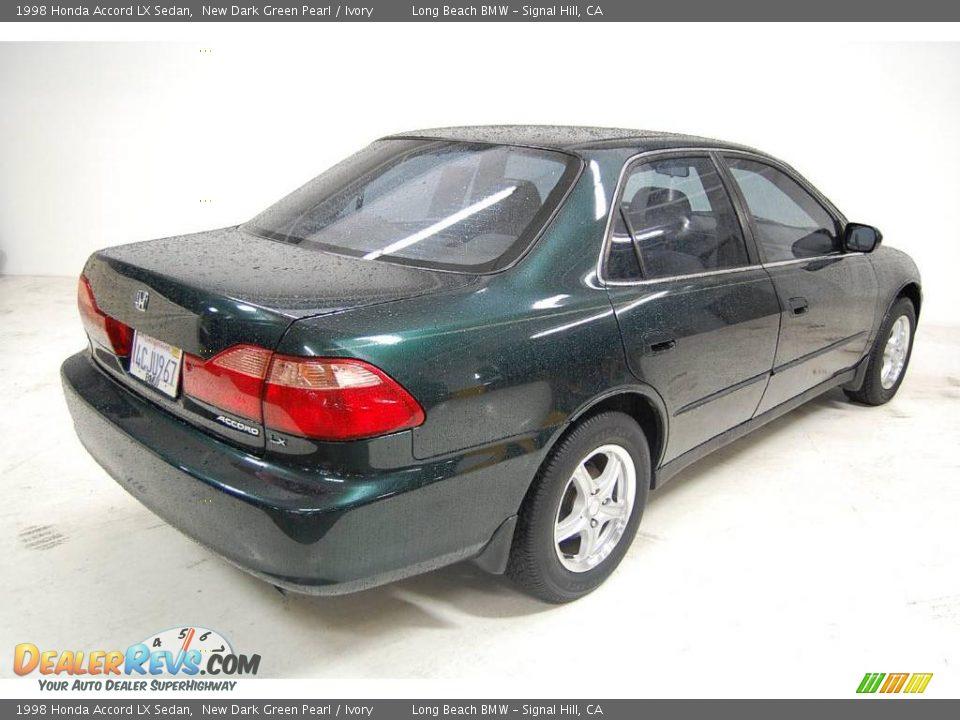 1998 honda accord lx sedan new dark green pearl ivory photo 6 dealerrevs com