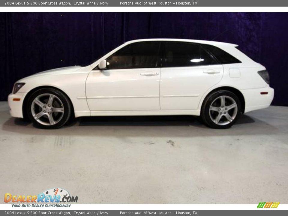 2004 Lexus Is 300 Sportcross Wagon Crystal White Ivory