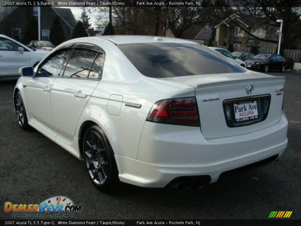 2007 acura tl 3 5 type s white diamond pearl taupe ebony photo 4. Black Bedroom Furniture Sets. Home Design Ideas