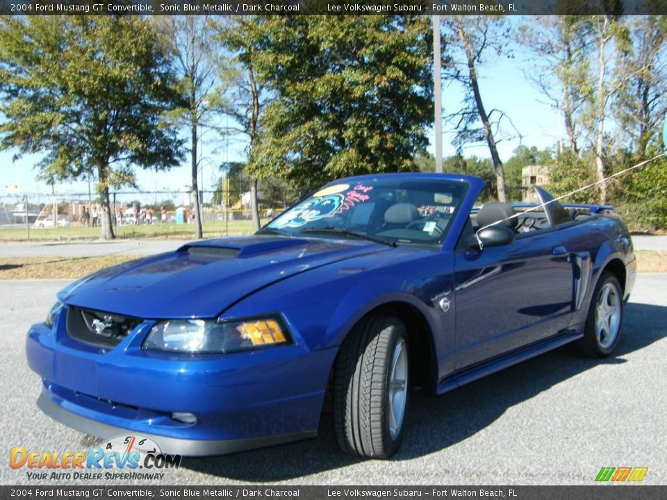 2004 ford mustang gt convertible sonic blue metallic. Black Bedroom Furniture Sets. Home Design Ideas