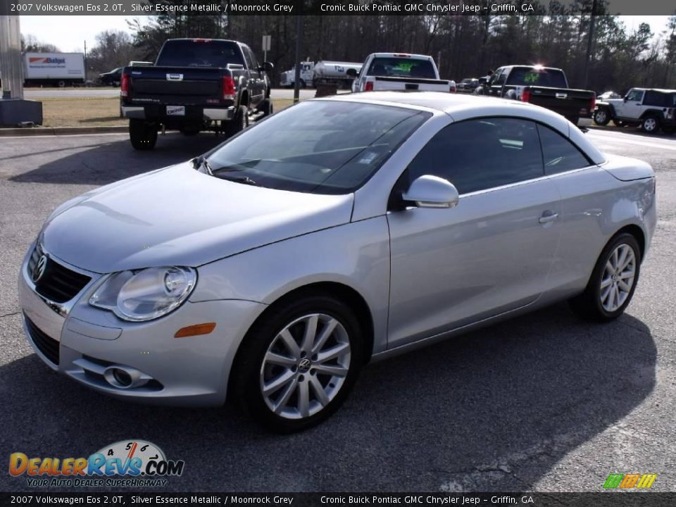 2007 volkswagen eos 2 0t silver essence metallic moonrock grey photo 12. Black Bedroom Furniture Sets. Home Design Ideas