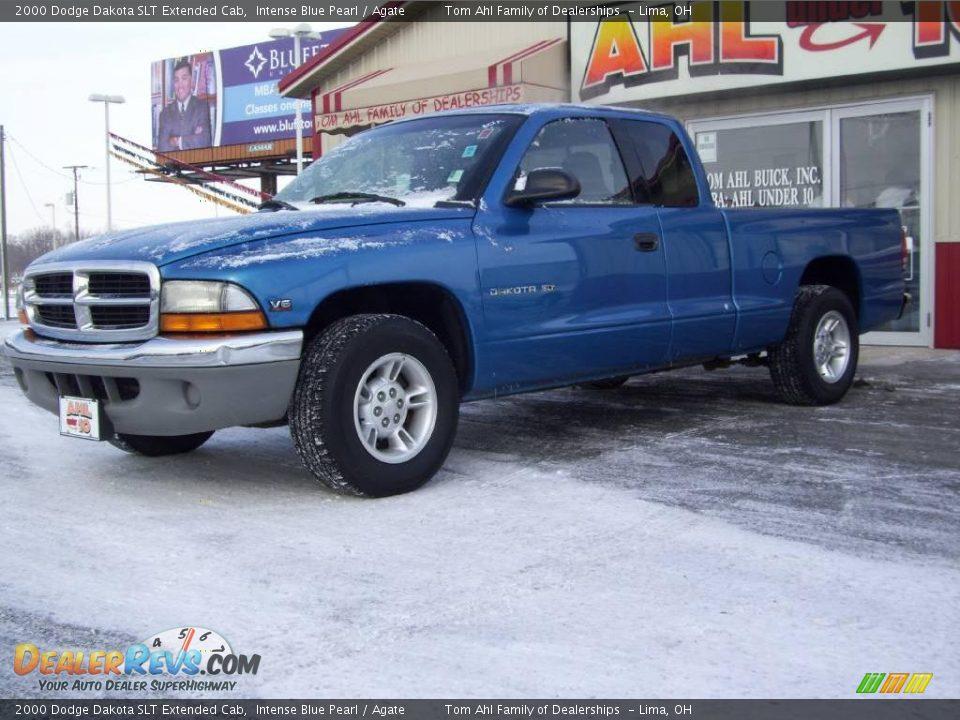 2000 dodge dakota slt extended cab intense blue pearl agate photo 1. Black Bedroom Furniture Sets. Home Design Ideas