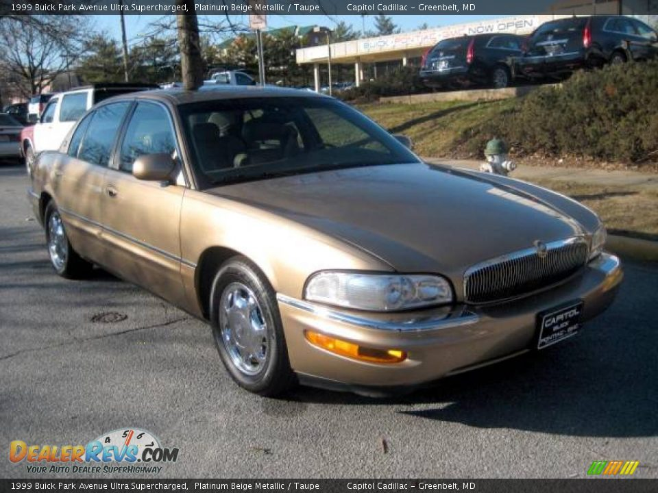 1999 buick park avenue ultra supercharged platinum beige metallic taupe photo 6. Black Bedroom Furniture Sets. Home Design Ideas