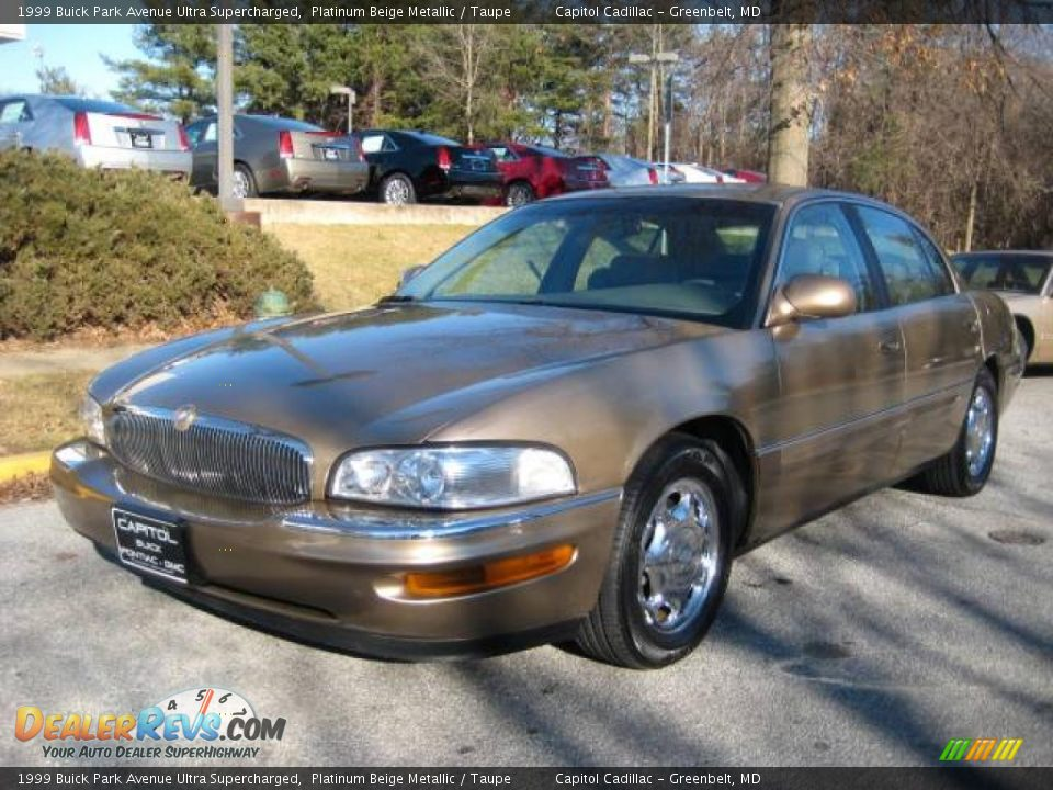1999 buick park avenue ultra supercharged platinum beige metallic taupe photo 8. Black Bedroom Furniture Sets. Home Design Ideas