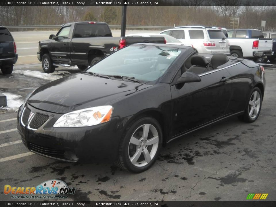 2007 pontiac g6 gt convertible black ebony photo 12. Black Bedroom Furniture Sets. Home Design Ideas