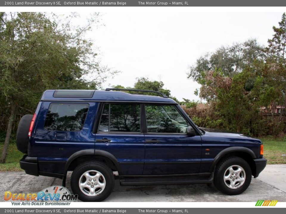2001 land rover discovery ii se oxford blue metallic bahama beige photo 16. Black Bedroom Furniture Sets. Home Design Ideas