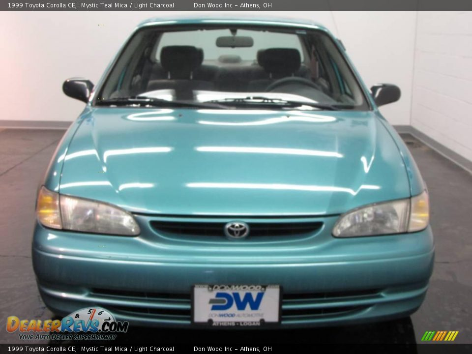 1999 toyota corolla ce mystic teal mica light charcoal. Black Bedroom Furniture Sets. Home Design Ideas