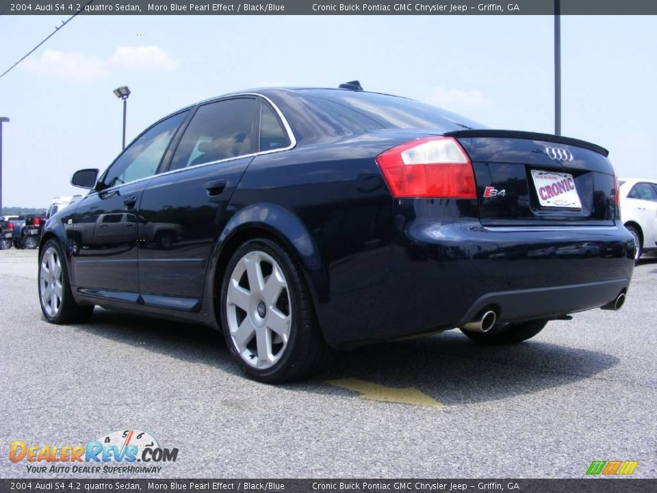 2004 audi s4 4 2 quattro sedan moro blue pearl effect black blue photo 6. Black Bedroom Furniture Sets. Home Design Ideas