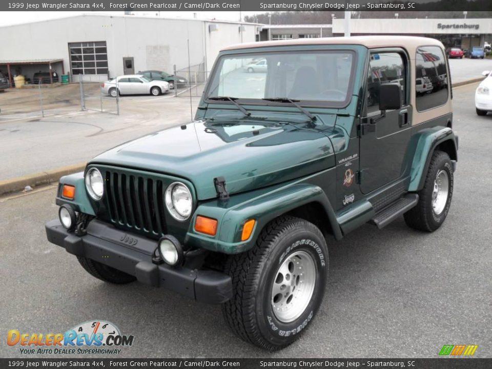 1999 Jeep Wrangler Sahara 4x4 Forest Green Pearlcoat