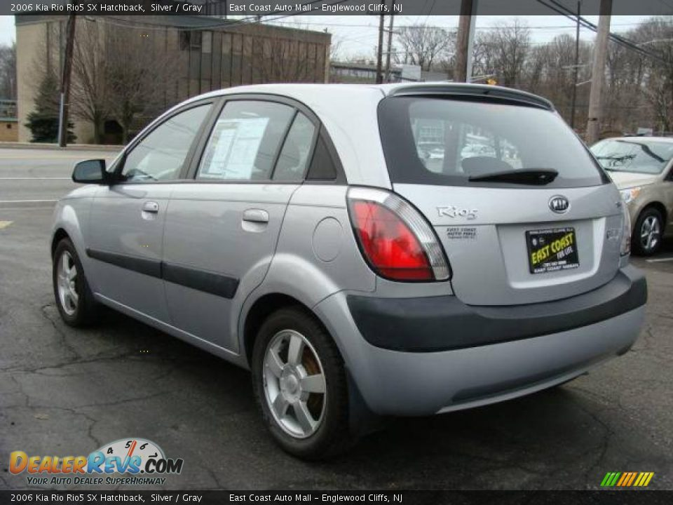 2006 Kia Rio Rio5 Sx Hatchback Silver Gray Photo 5