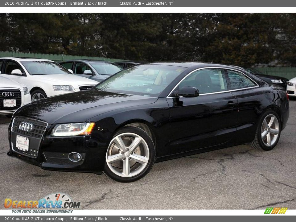2010 Audi A5 2 0t Quattro Coupe Brilliant Black Black
