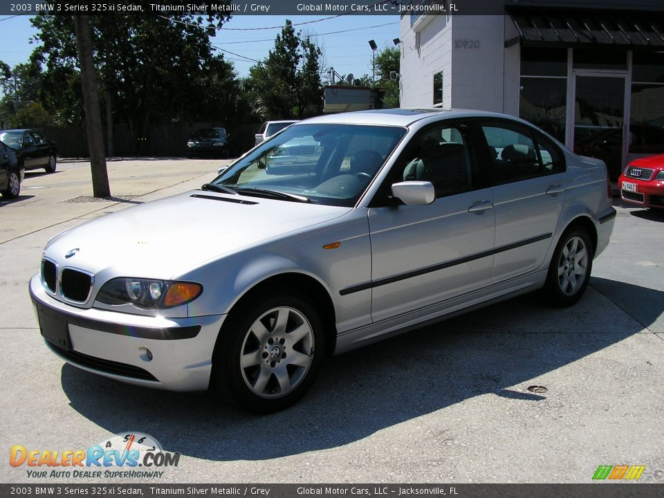 2003 BMW 3 Series 325xi Sedan Titanium Silver Metallic ...