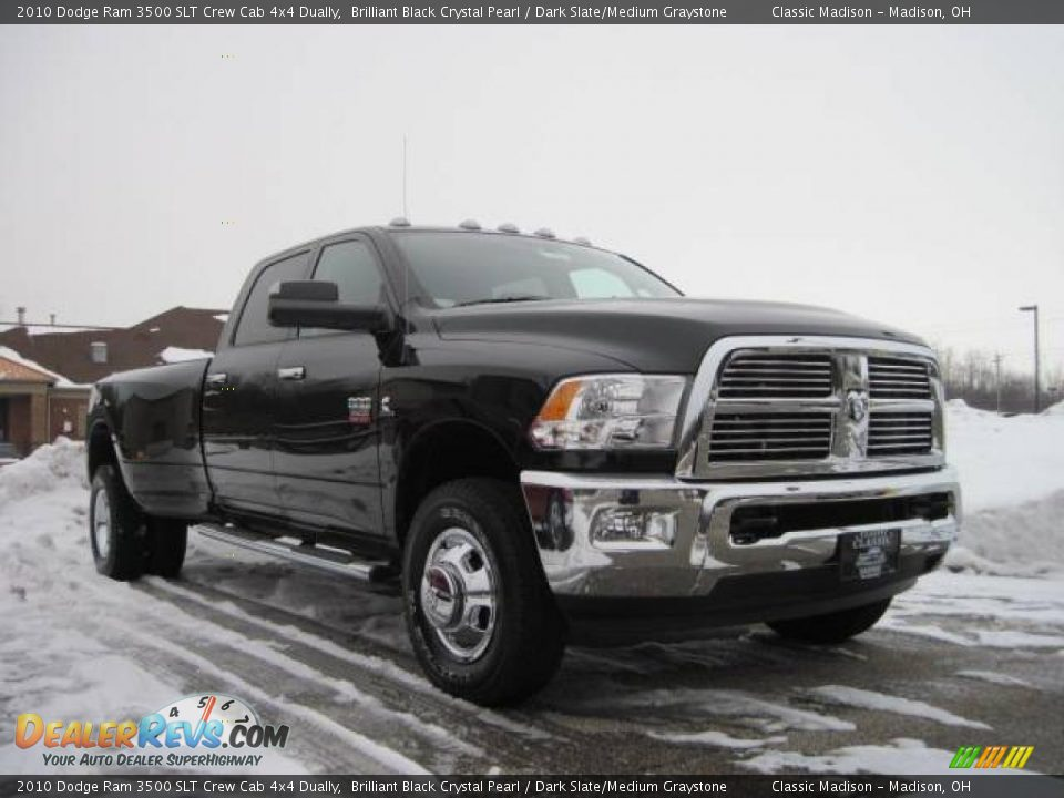 2010 Dodge Ram 3500 Slt Crew Cab 4x4 Dually Brilliant
