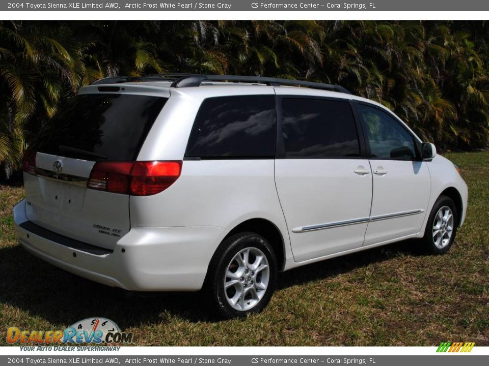 2004 toyota sienna xle limited awd arctic frost white pearl stone gray photo 6. Black Bedroom Furniture Sets. Home Design Ideas