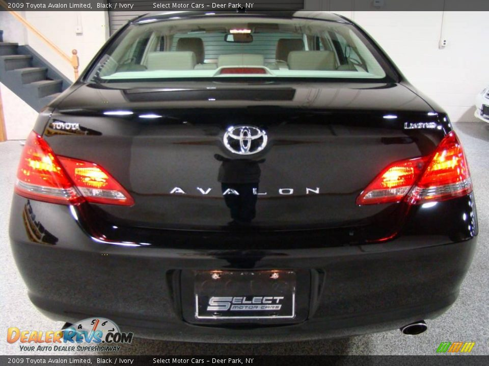 2009 Toyota Avalon Limited Black Ivory Photo 5