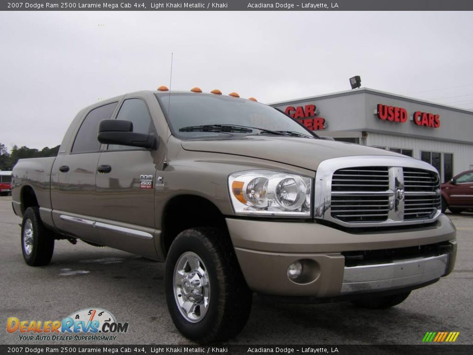 2007 dodge ram 2500 laramie mega cab 4x4 light khaki. Black Bedroom Furniture Sets. Home Design Ideas