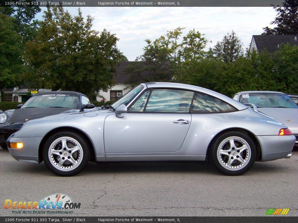 1996 Porsche 911 993 Targa Silver Black Photo 2
