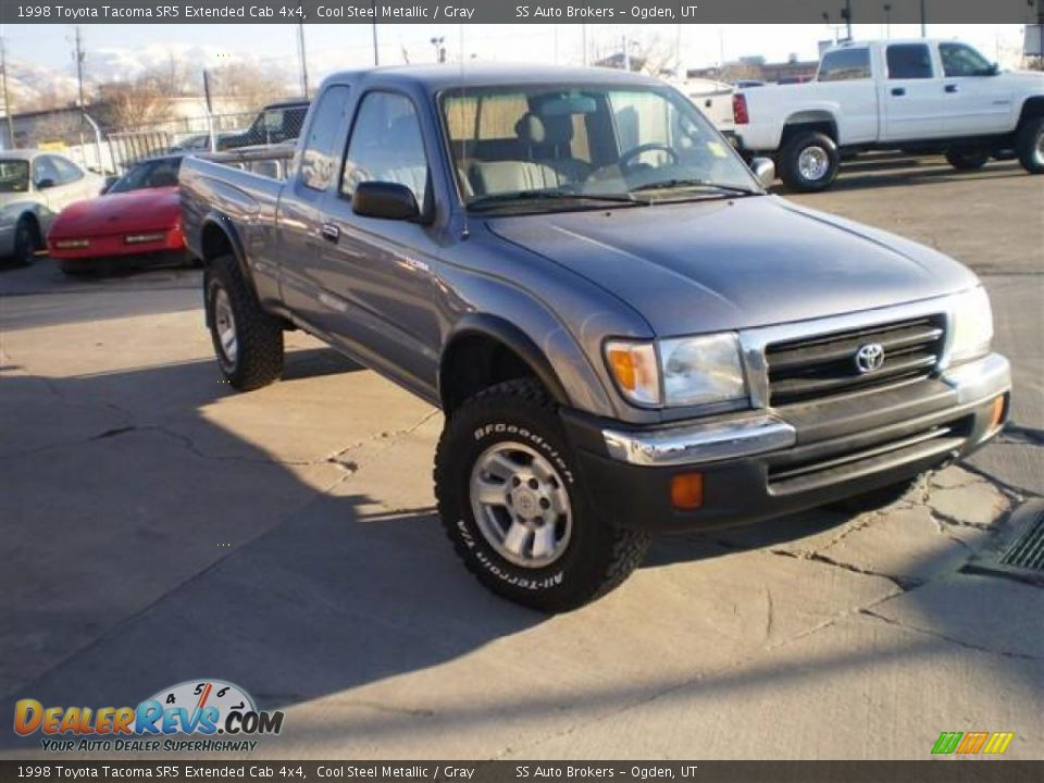1998 toyota tacoma sr5 extended cab 4x4 cool steel. Black Bedroom Furniture Sets. Home Design Ideas