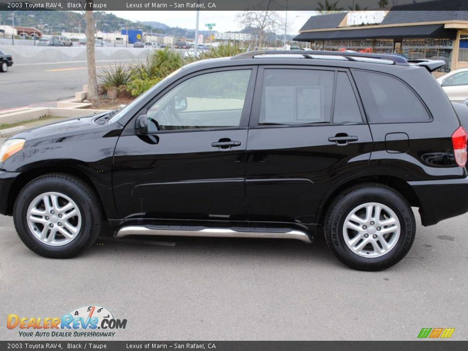 2003 Toyota Rav4 Black Taupe Photo 6 Dealerrevs Com