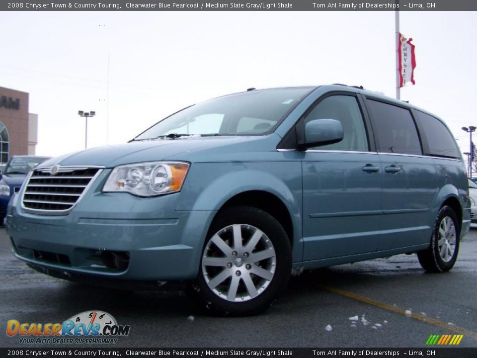 Chrysler Town And Country 2017 >> 2008 Chrysler Town & Country Touring Clearwater Blue ...